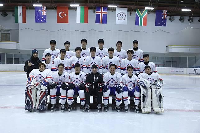 ▲U20國家代表隊。(圖/冰協提供)
