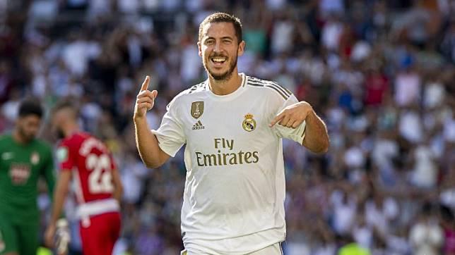 Eden Hazard Buka Keran Gol Real Madrid Aman di Puncak