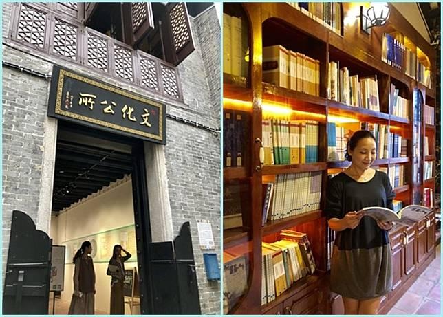 在這裡,大家除可以買手信,還可以走到「文化公所」,她是出版社+書店+文化空間三合一,走來看看書、扮扮文青很不錯。(FoodieCurly鬈毛妹提供)