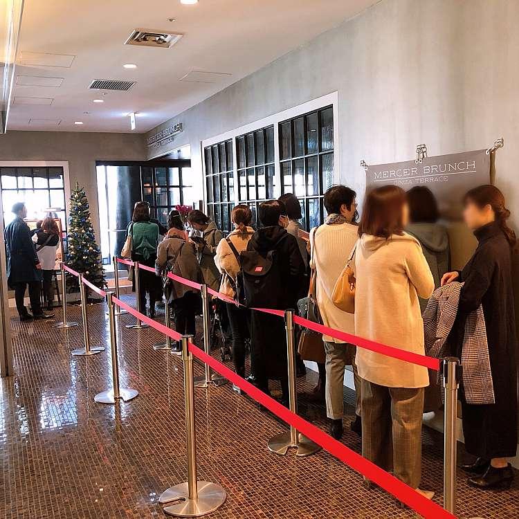 実際訪問したユーザーが直接撮影して投稿した銀座イタリアンMERCER BRUNCH GINZA TERRACEの写真