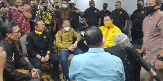 Tommy Soeharto bubarkan Munaslub Berkarya. ©2020 Merdeka.com
