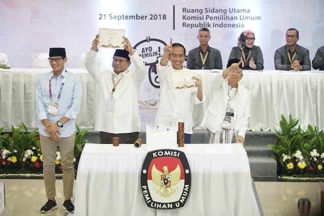 Formasi Tim Kampanye Jokowi-Ma'ruf Vs Prabowo-Sandi di Pilpres 2019