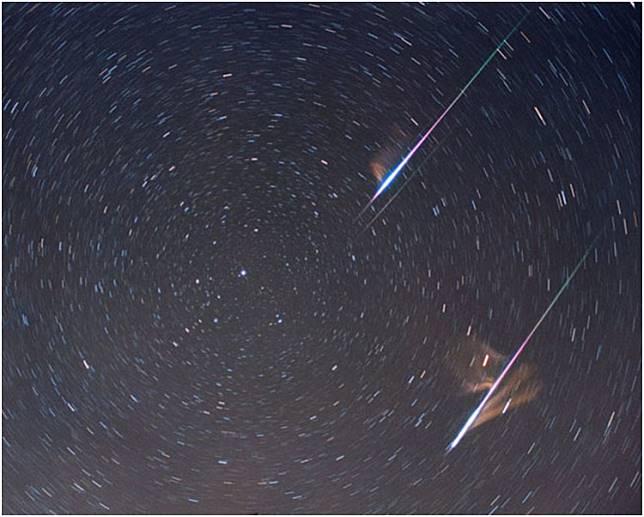 「雙子座流星雨」於今日凌晨踏入高峰期。資料圖片