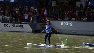 Adu Cepat di Danau Sunter, Menteri Susi Kalahkan Sandiaga