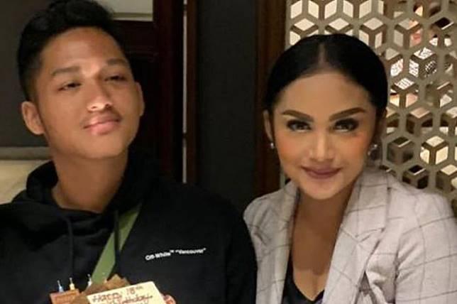 Azriel Hermansyah dan Krisdayanti