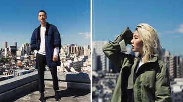 極簡進化的風衣與羽絨和服外套 The North Face Urban Exploration