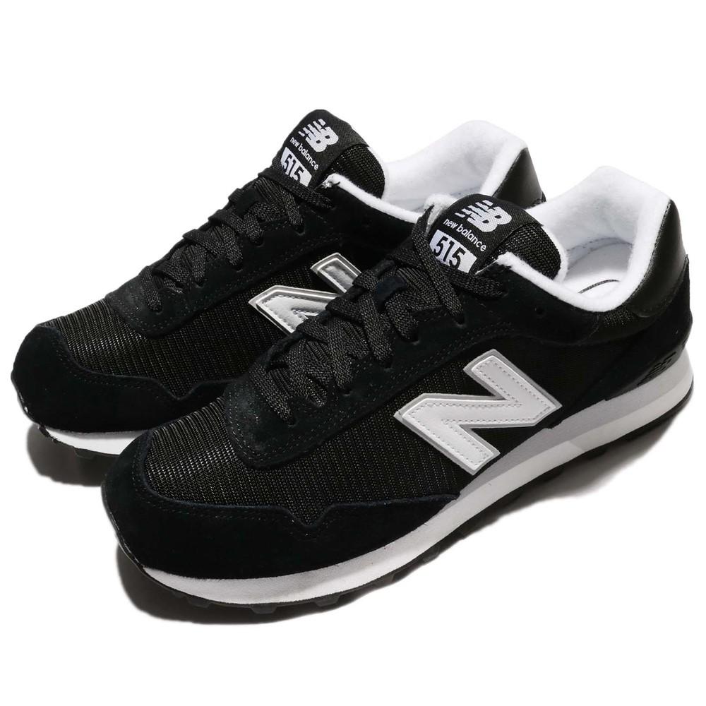 NEW BALANCE 休閒鞋 紐巴倫 515 復古 運動 男鞋 低筒 慢跑 跑鞋 穿搭推薦 男 黑 白 [ML515RSCD]