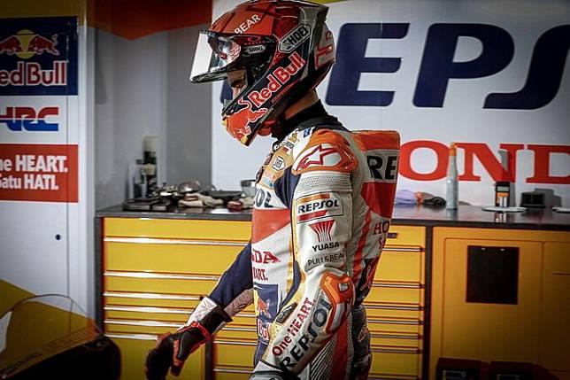 Marc Marquez Pensiun Gara-Gara Cedera, Valentino Rossi Tertawa?