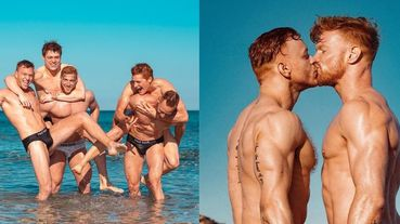 【我要吃肉】「2020 Red Hot 紅髮猛男裸體月曆」海灘男男激吻尺度大開!這麼濕的月曆你一定要收