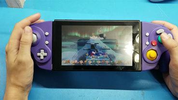 國外 DIY 玩家打造 NGC 版 Switch Joy-Con,酷炫感大過實用性