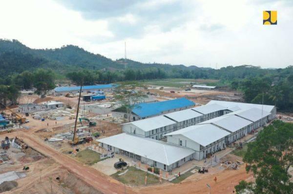 Saat ini progres keseluruhan konstruksi telah mencapai 94,42% dan ditargetkan pekan depan sudah dapat dioperasikan.
