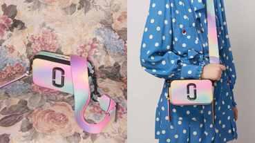 Marc Jacobs相機包新配色太燒了!粉嫩獨角獸色想讓人荷包見底