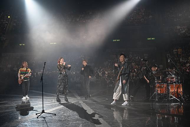 容祖兒17場演唱會,Supper Moment做嘉賓