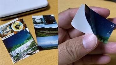 文青神器!日本「印相機」照片直接列印成貼紙 自行調整大小寫手帳超方便!