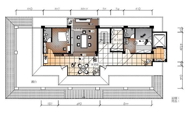 三樓空間平面圖