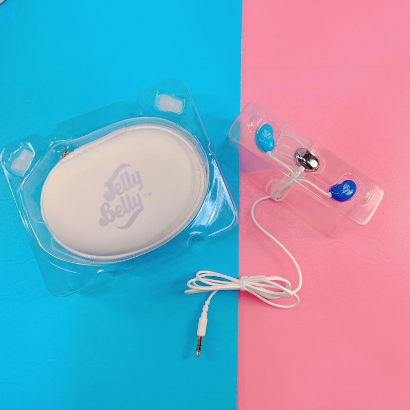 嘗甜頭 JellyBelly造型耳機 耳塞式 雷根糖耳機