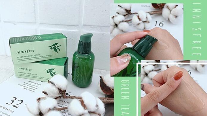 【肌膚深呼吸輕保養】Innisfree綠茶籽保濕精華液