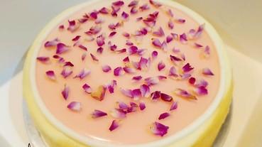 紐約精品甜點 Lady M 限定版玫瑰千層貪吃分享
