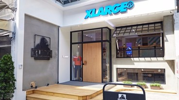 WE ARE COMING!!! XLARGE STORE TAIPEI強勢來襲