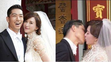 林志玲AKIRA婚禮喇舌狂吻10秒好激烈!網友驚呼:「這才是愛情的樣子」