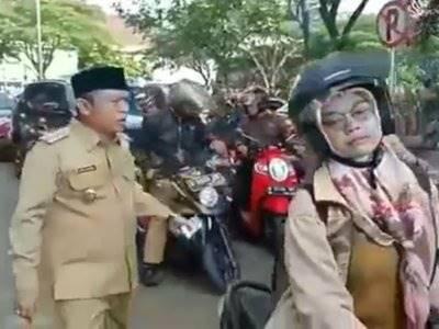 Kabur Saat Acara Pengajian, Wakil Walikota Serang Marah Kejar PNS