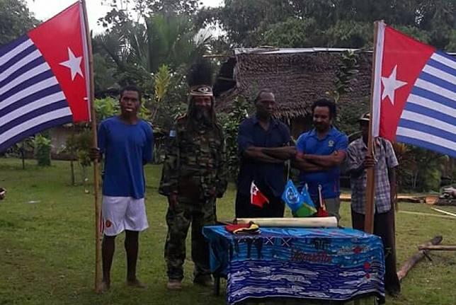 Kelompok bersenjata Papua Merdeka.