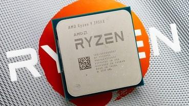 AMD Ryzen 9 3950X 處理器散熱與效能評測,AM4 主流平台飆上16 核心