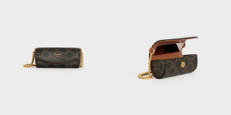 CELINE Triomphe帆布唇膏盒,售價NT$19,500