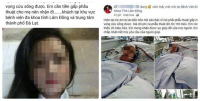 Sự thực phía sau câu chuyện thiếu nữ xinh đẹp muốn bán thân lấy tiền phẫu thuật cho mẹ