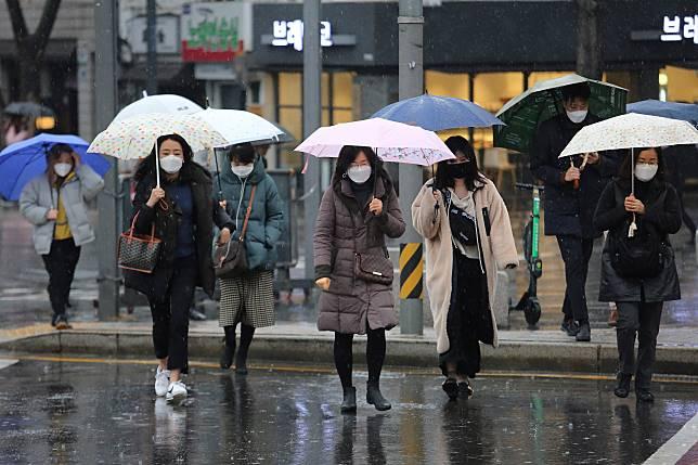 ▲武漢肺炎疫情爆發讓南韓開始人人自危。(圖/美聯社/達志影像)