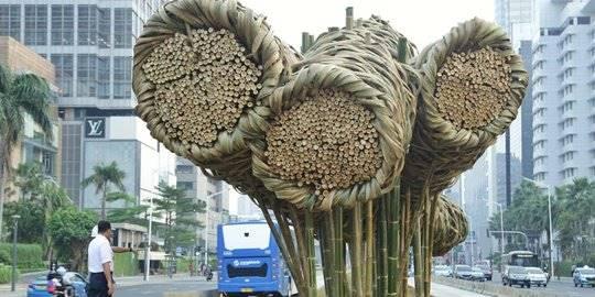 Cerita Karya Seni Bambu Seharga Rp550 Juta yang Dibanggakan Anies Akhirnya Dibongkar
