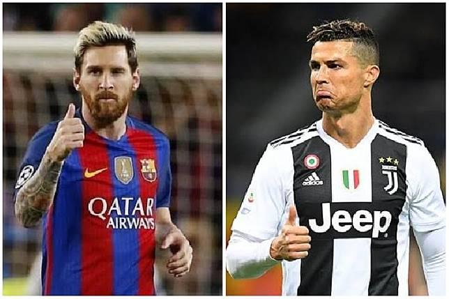 Rekor Messi dan Ronaldo di 16 Besar Liga Champions