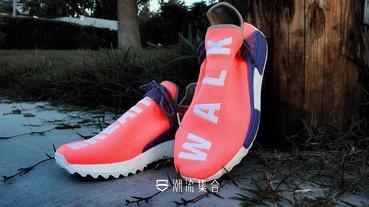 Pharrell x adidas Originals「 NMD Hu 」推出西瓜紅配色!