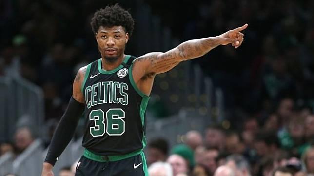 Pemain Boston Celtics, Marcus Smart. [AFP]