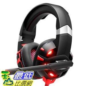 【美國代購】RUNMUS遊戲耳機Xbox One耳機 帶7.1環繞聲立體聲 PS4耳機 Nintendo Switch