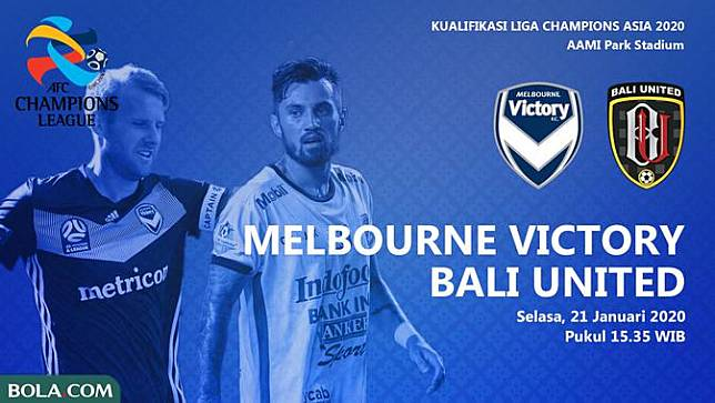 Dibantai Melbourne Victory Bali United Gagal Tampil Di Liga Champions Asia Bola Com Line Today