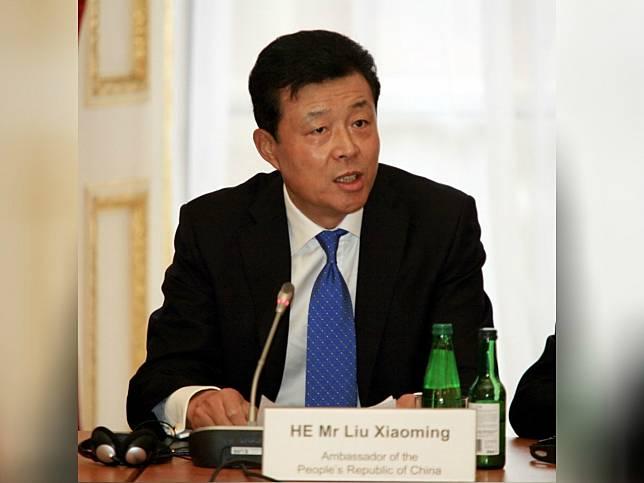 劉曉明表示,香港暴力場面威脅國家安全,有必要訂立國安法。(法新社資料圖片)