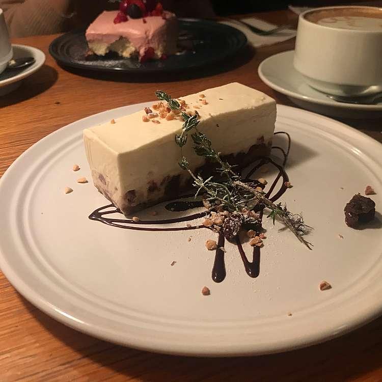 ユーザーが投稿したレアチーズケーキの写真 - 実際訪問したユーザーが直接撮影して投稿した新宿カフェアナログ 新宿の写真