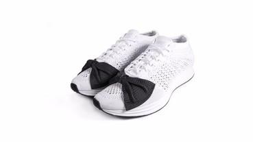 優雅的典範!Comme des Garçons x Nike Lunar Epic Flyknit 極限量「蝴蝶結」運動鞋,本周美型開賣!