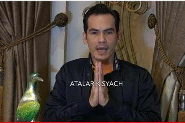 Atalarik Syach minta maaf usai Shalat Jumat di zona merah