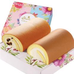 ◎雙口味,幸福加倍!來自北海道的乳源,成就豐厚芳醇的自然風味,再搭配上昭和蛋糕專用麵粉製成的蛋糕,以絕佳比例引領平衡口感。.|◎黑糖珍珠撞奶:入口即融的奶霜裡搭配Q嫩彈滑的黑糖珍珠麻糬,饒富趣味的品嚐
