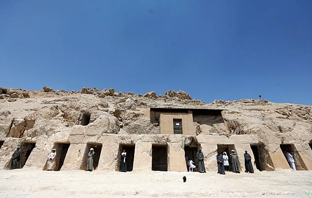 Makam Kerajaan Baru yang Luas Ditemukan di Luxor, Mesir
