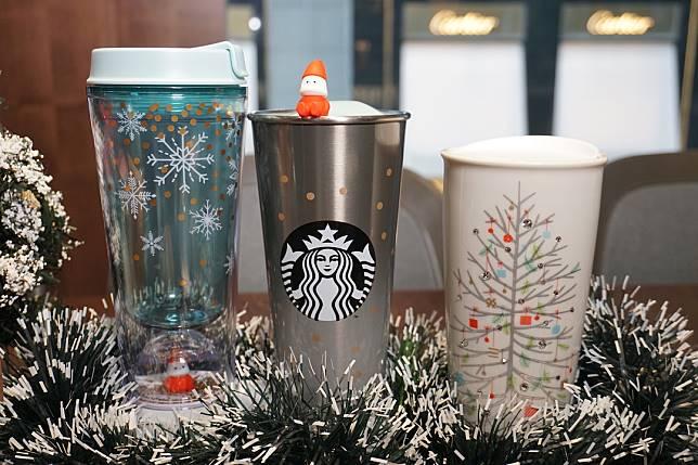 走冷色調的隨行杯。