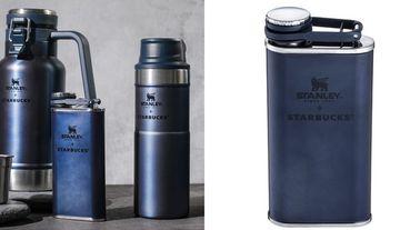 讓男生都想購入的靜謐夜空藍!星巴克 x Stanley推出全新LOGO7款限定商品