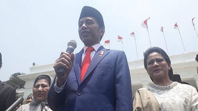 Presiden Joko Widodo. (Suara.com/Ummi HS).
