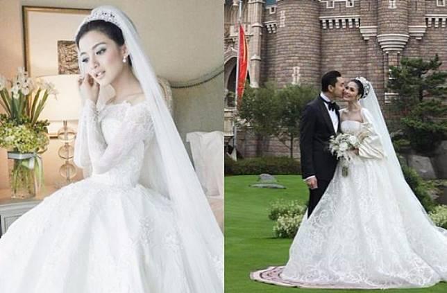 5 Gaun Pernikahan Artis Indonesia Ini Cantik Dan Mewahnya Bikin