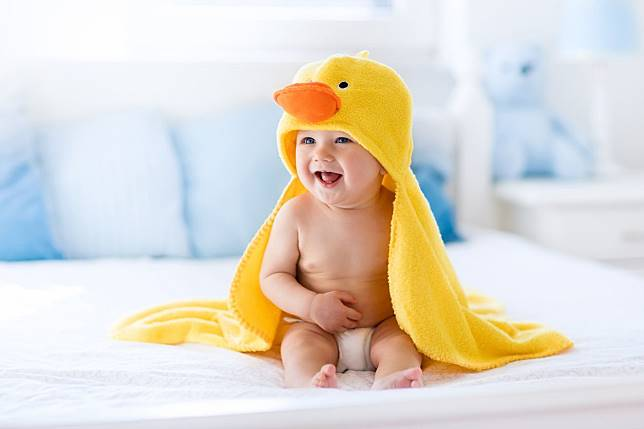 Adik bayi mempunyai aroma tubuh yang khas.