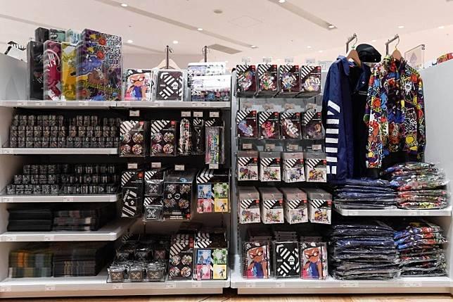 《Splatoon》的貨品相當豐富,而且設計時尚。(互聯網)