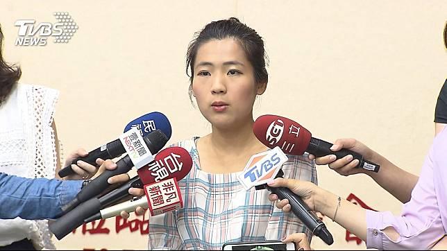 國民黨台北市議員徐巧芯。圖/TVBS資料照