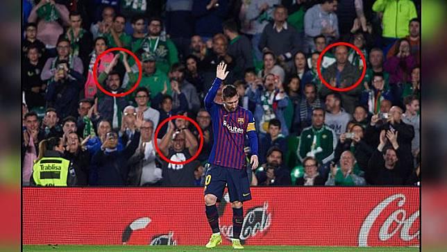 Dapat Standing Applause, Messi: Fans Betis Memang Selalu Baik